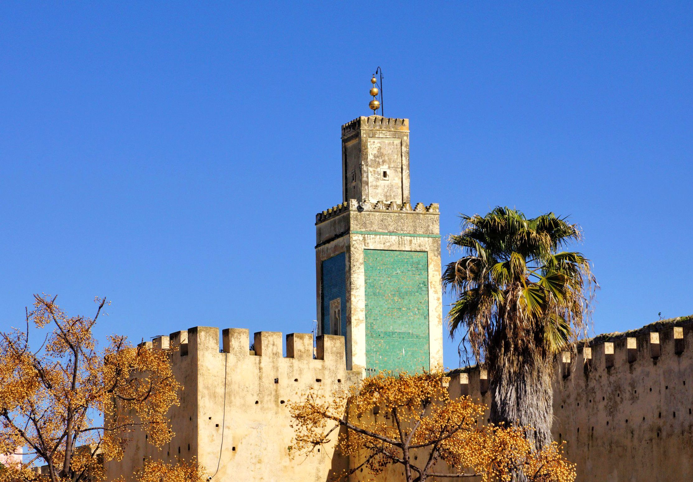 Minaret Wielkiego Meczetu w Meknesie