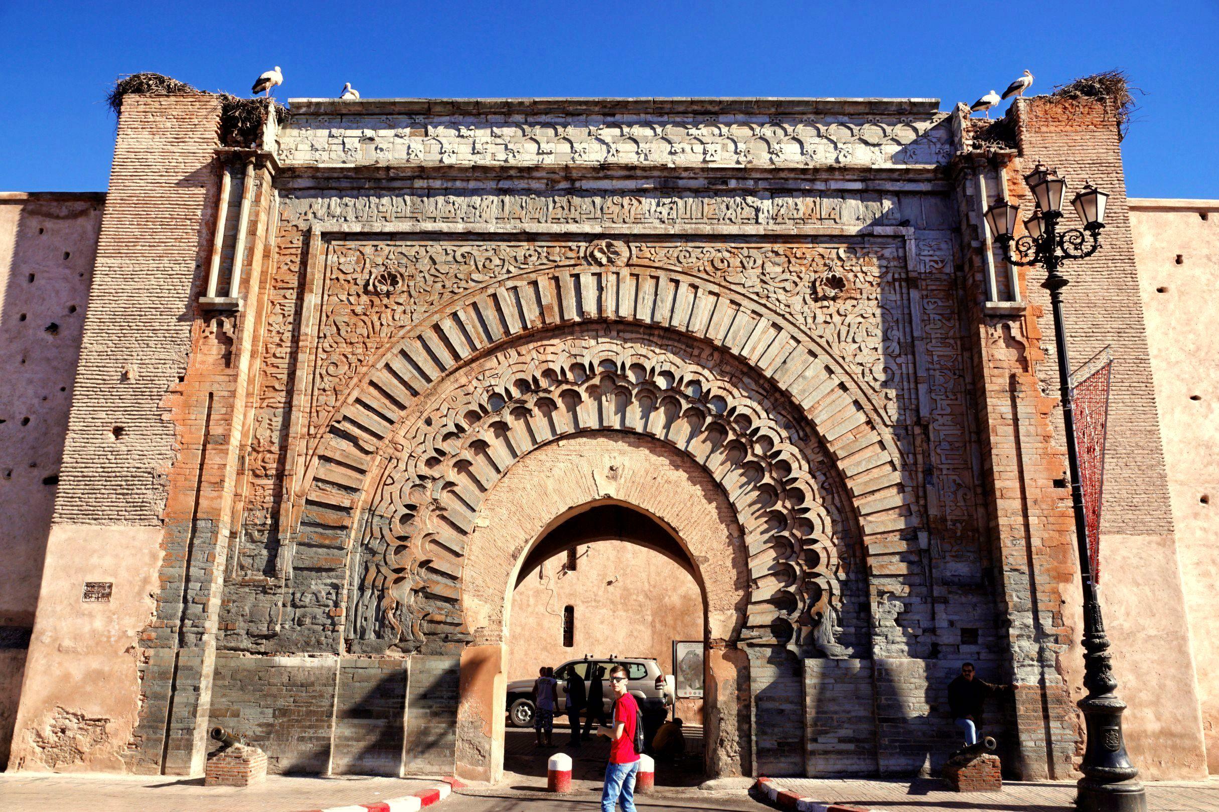 Bab Agnaou - najpiękniejsza i najsłynniejsza brama Marrakeszu