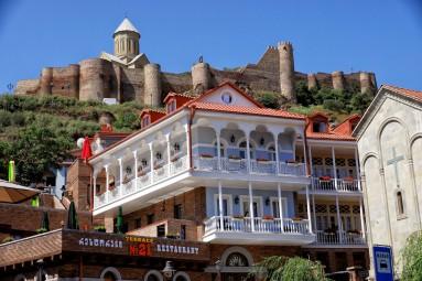 starówkę Tbilisi