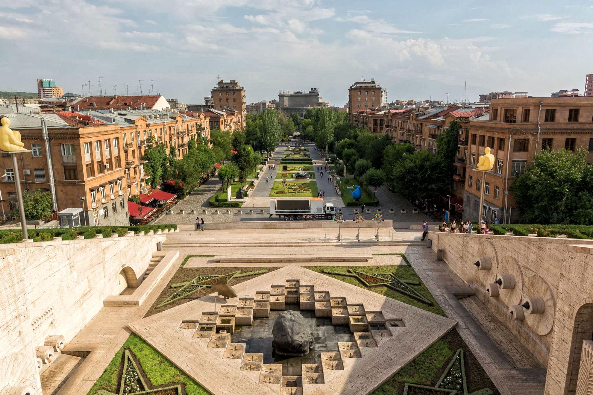 Erywań to piękne serce Armenii