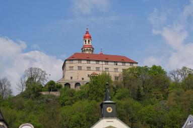Zamek Nachod w pełnej krasie