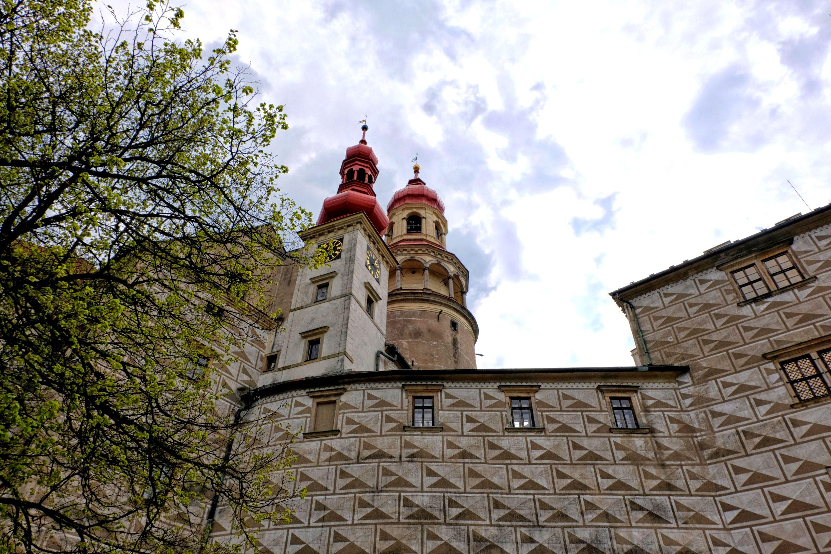 Zamek w Nachodzie