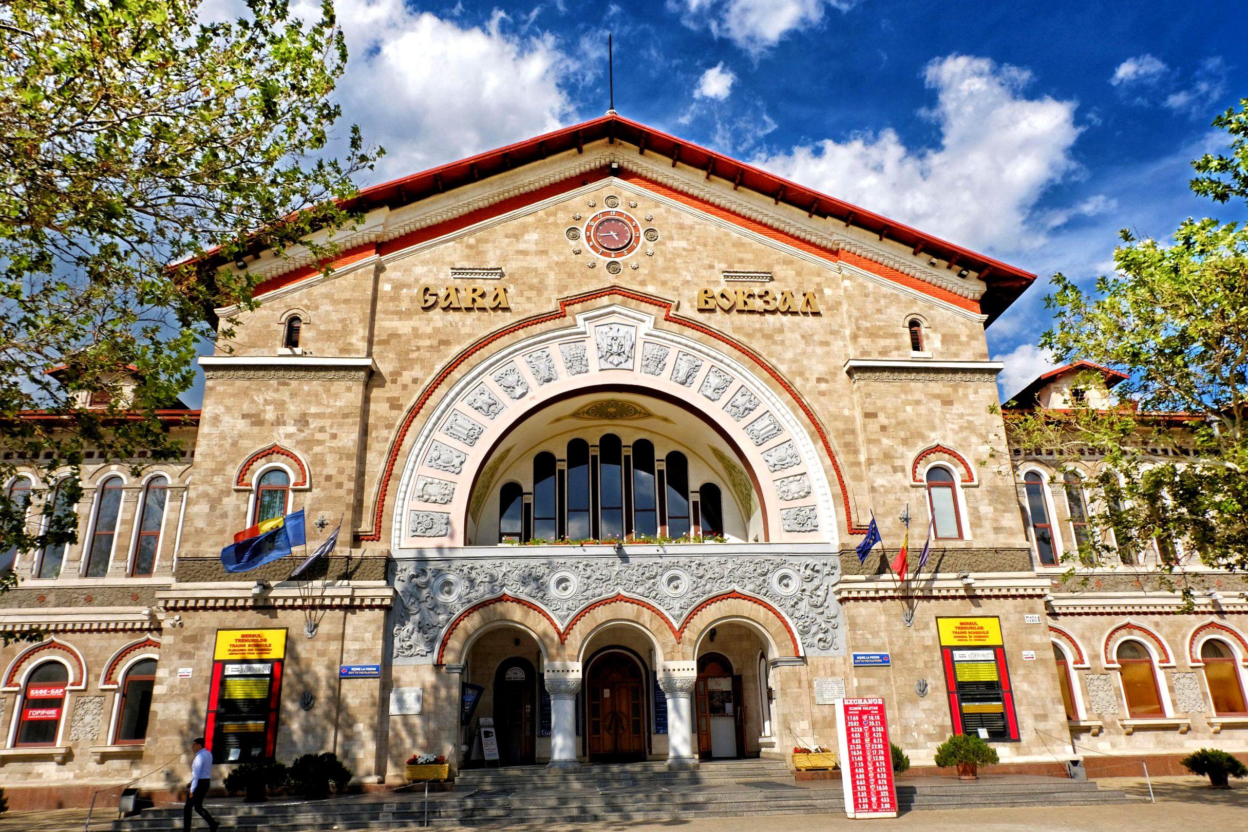 Dworzec kolejowy w Kiszyniowie
