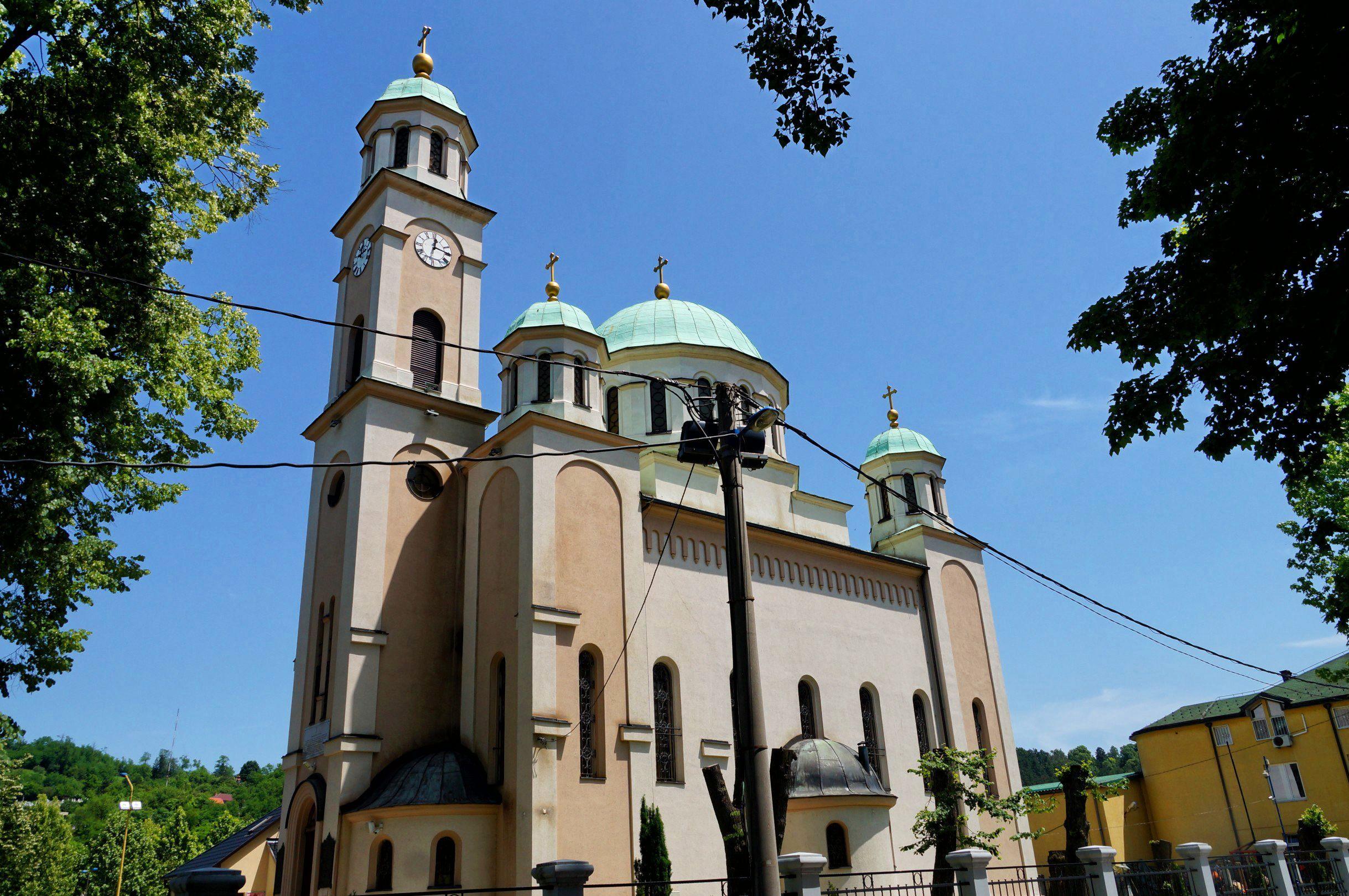 cerkiew Zaśnięcia Matki Boskiej Tuzla