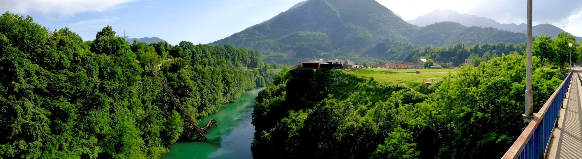 Jablanica jest pięknie położona