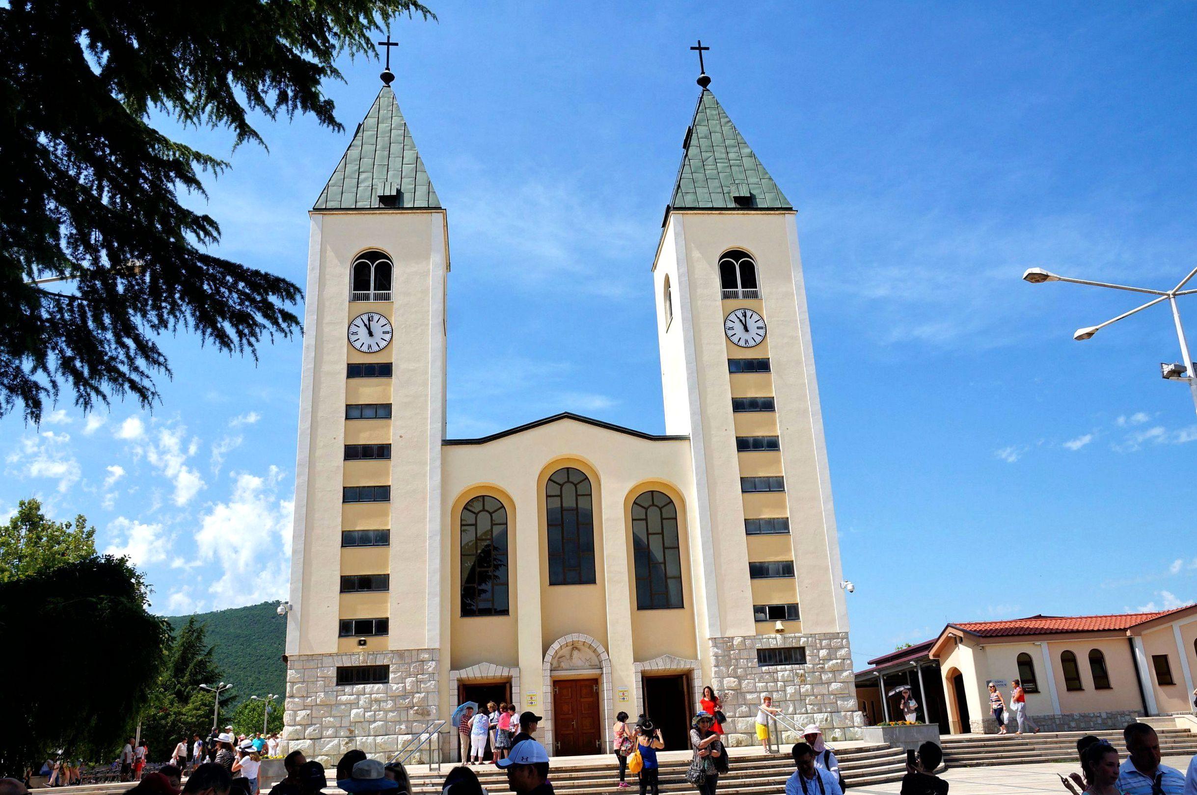 Kościół św. Jakuba w centrum Medjugorje