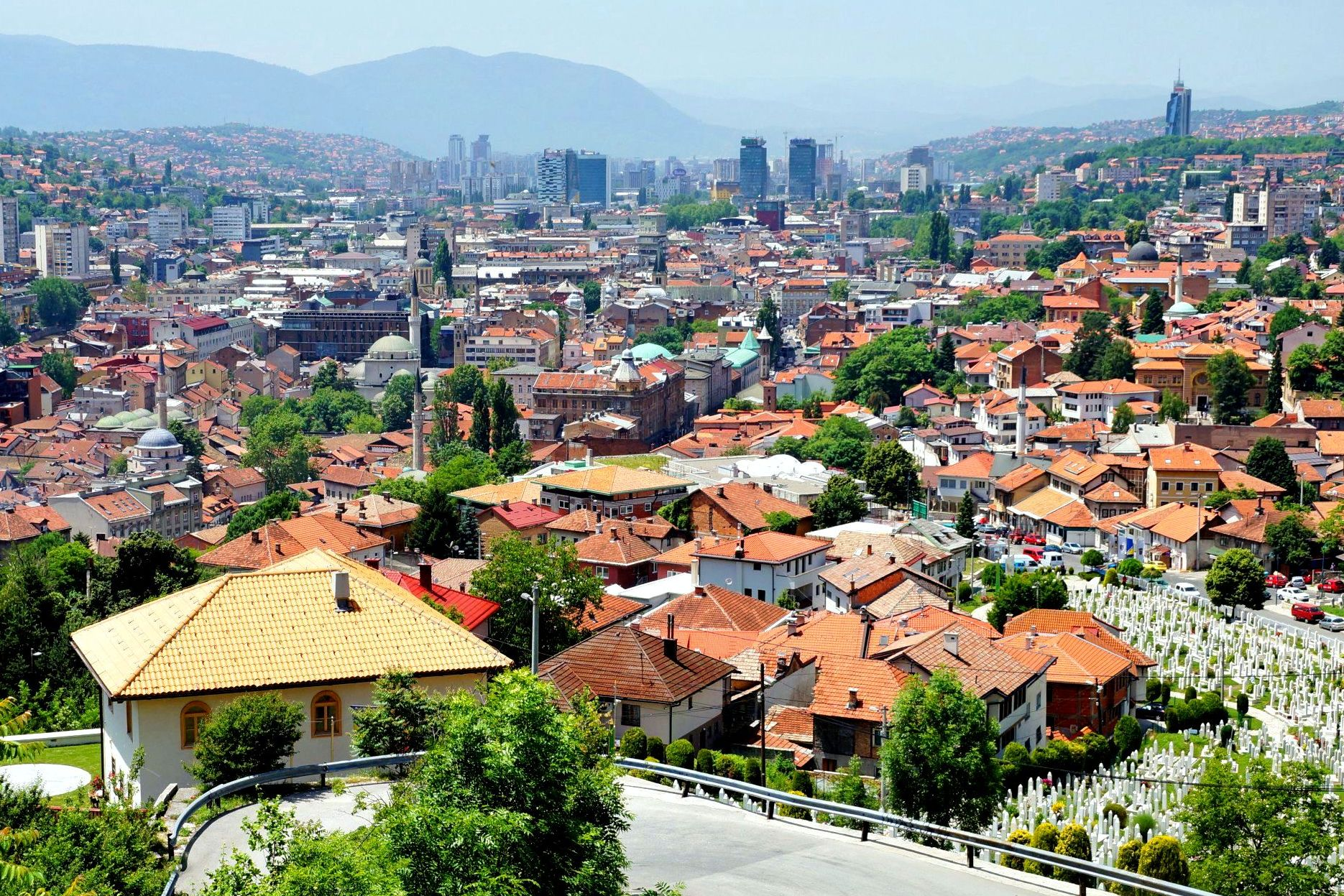 Sarajewo najpiękniej prezentuje się z góry