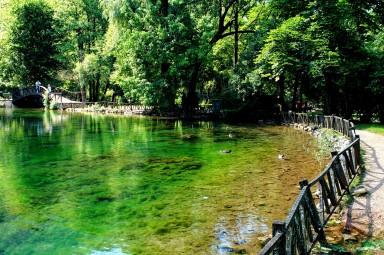 Źródła rzeki Bośni