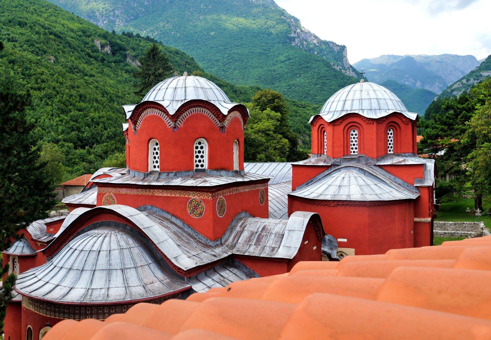 Pecka Patrijarsija to zespół czterech połączonych cerkwi