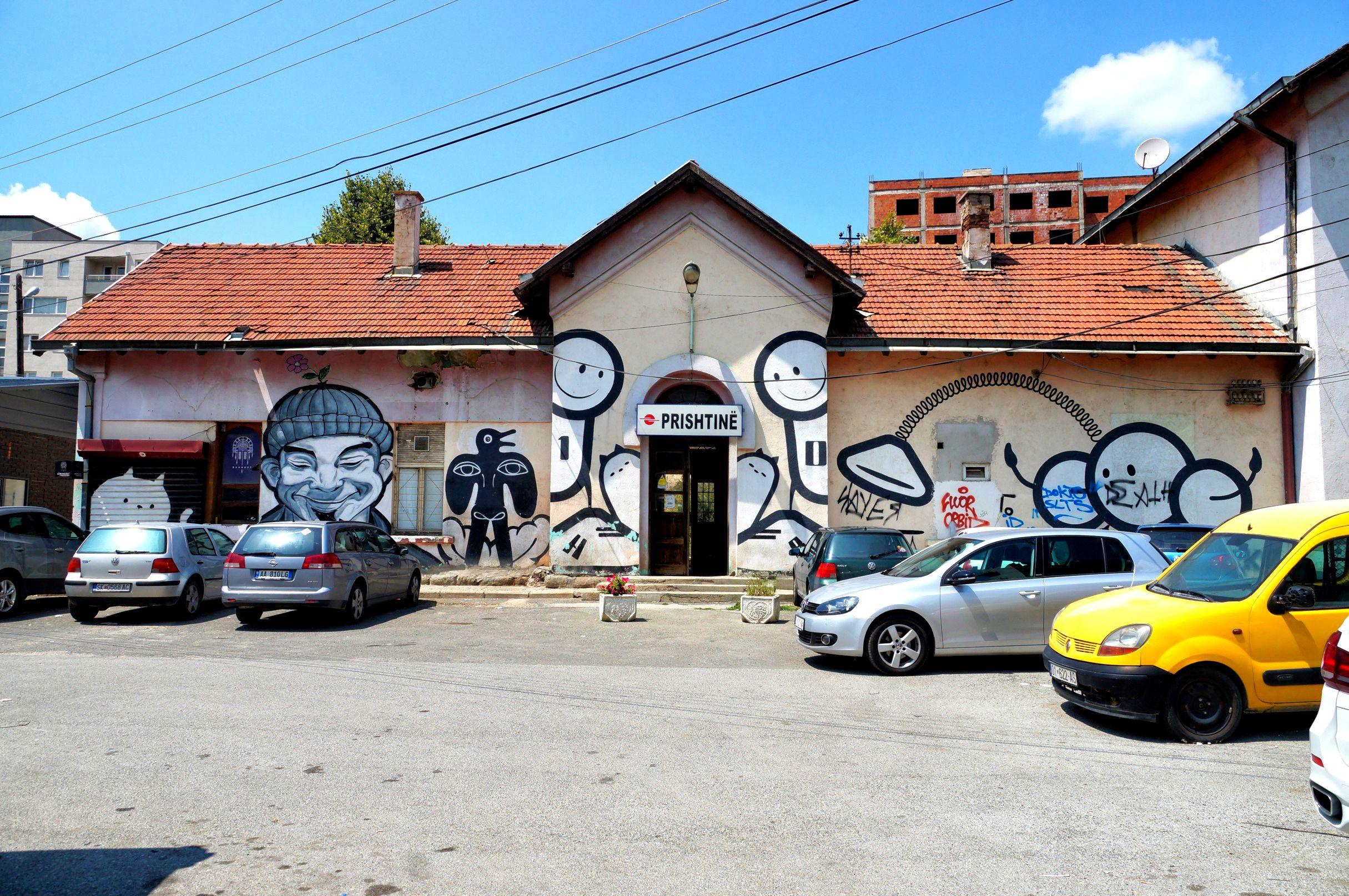 Stacja kolejowa w Prisztinie